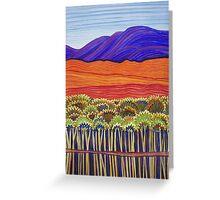 Pastel Art - Gulf Reflections Greeting Card