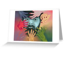 7 Deadly Sins Greeting Card