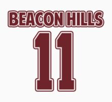 Scott McCall 11 Beacon Hills Lacrosse Jersey by hanelyn