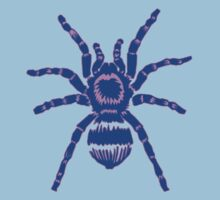 Tarantula! Blue and Purple Kids Clothes