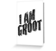 I am Groot Tee Greeting Card