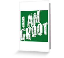 I am Groot Shirt Greeting Card