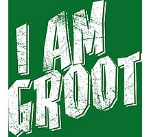 I am Groot Shirt Photographic Print