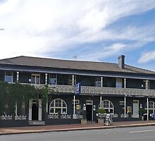 Top Pub, Uralla, New South Wales, Australia  by Margaret  Hyde