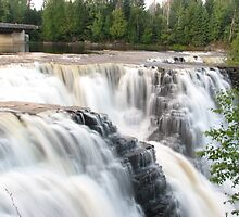 Graceful Falls - Kakabeka Falls Provincial Park by Shauna  Kosoris