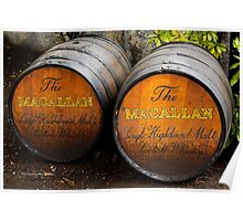 MacAllan Casks - Scotland Poster