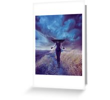 Entropic misadventure Greeting Card