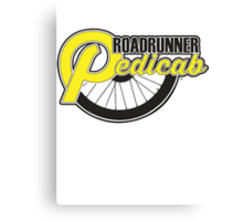 Roadrunner Pedicab - Clean Logo Canvas Print