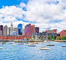 Boston Harbor - The Marina by Mark Tisdale