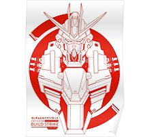 GAT-X105B Build Strike Gundam Poster
