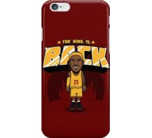 The King is Back iPhone Case/Skin