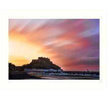 Gorey Castle Sunrise Art Print