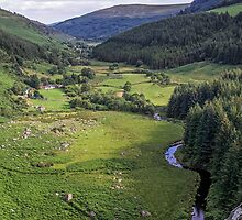 Glenmacnass View by TonyCrehan