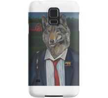 'Business time' painting by Damian Smith Samsung Galaxy Case/Skin