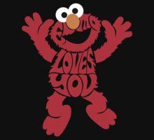Elmo Loves you by Rokkaku