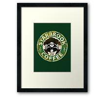 Starbrook Coffee Grunge Framed Print