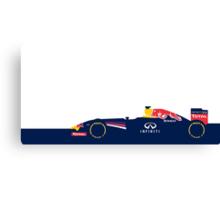 2014 Formula 1 RedBull Racing  Canvas Print