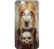 Black Widow by Élian Black'Mor iPhone Case/Skin