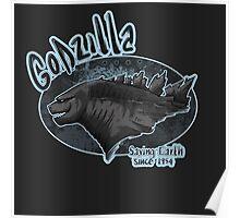 Godzilla - saving Earth since 1945 Poster