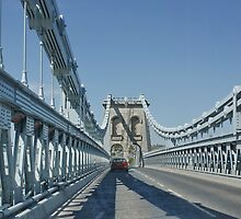 On the Menai Bridge, Anglesey by AnnDixon