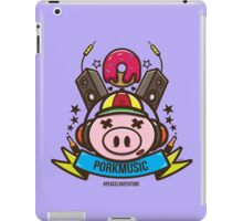 Porkmusic Vector iPad Case/Skin