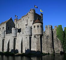 Castle in Gent by PhotoBilbo