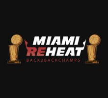 Miami Reheat Trophies on Red by Nick Tabri