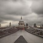 Ghosts - St Paul's Cathedral by Ursula Rodgers Photography
