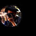 through the cannon hole  by lensbaby