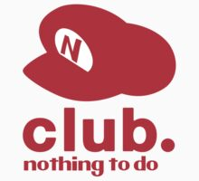 Club Nintendo logo parody Nothing to do club by Trish08