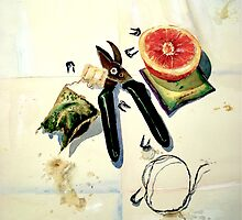 Still Life with Picture Wire by © Janis Zroback