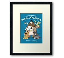 Hagrid's Home for Magical Creatures Framed Print