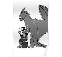 Thorin and Toothless Poster