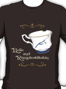 Belle and Rumplestiltskin's cup T-Shirt