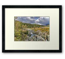River Duddon Lake District Framed Print