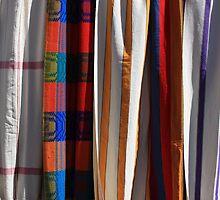 Cloth Hammocks in Otavalo by rhamm
