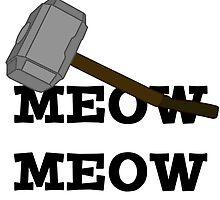 Meow Meow Mjolnir  by rwang