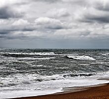 Surf, Sand, and Sky by WeeZie