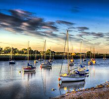 The Sunset River by DavidHornchurch