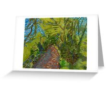 Path Looking Forward Greeting Card