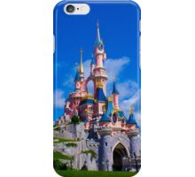 Disneyland Paris Castle - Le Château de la Belle au Bois Dormant iPhone Case/Skin