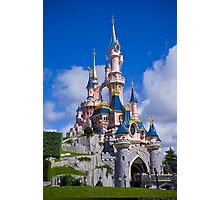 Disneyland Paris Castle - Le Château de la Belle au Bois Dormant Photographic Print