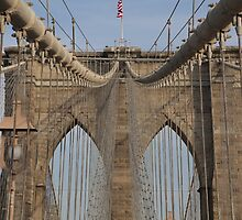 Brooklin bridge by PhotoBilbo