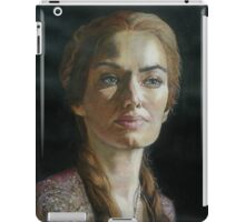 A Queen in Thought  iPad Case/Skin