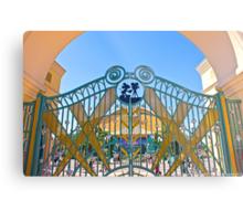 Walt Disney Studio Gates (Mickey Mouse) Metal Print