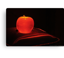Snow White's Apple Canvas Print