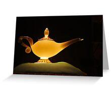 Jasmine's Lamp Greeting Card