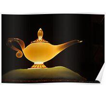 Jasmine's Lamp Poster