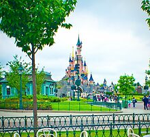 Disneyland Paris Castle by ThatDisneyLover