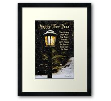 My Wish ~ For the New Year Framed Print